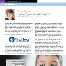 Throat Scope®: Lighting Throats Around the World