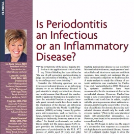 Is Periodontitis an Infectious or an Inflammatory Disease?
