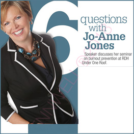 6 questions with Jo-Anne Jones