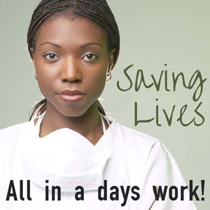 Saving Lives - All in a days work!