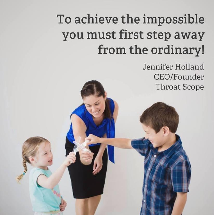 Jennifer Holland - Inventor of Throat Scope