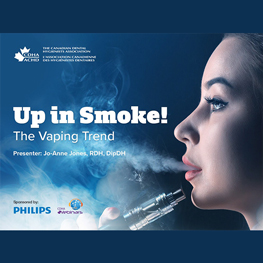 Up in Smoke!  The Vaping Trend