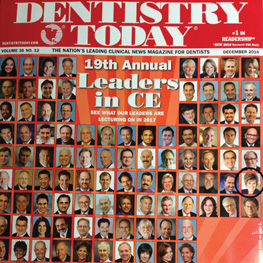 Jo-Anne Jones - 2017 Continuing Education Leader for the 7th year - Dentistry Today